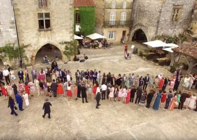 Drone video Mariage