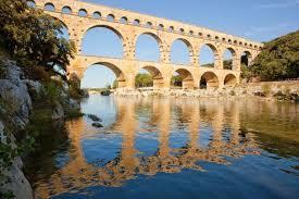 Tri des déchets pont du Gard