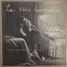 La voix humaine  de Jean Cocteau